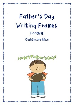Father's Day Writing Frames - Football