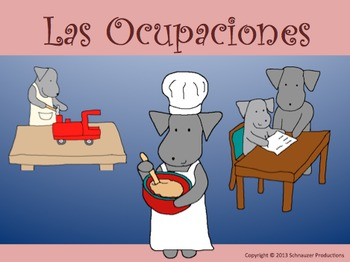 Occupations in Spanish by Pepper with Mother's Day and Fat
