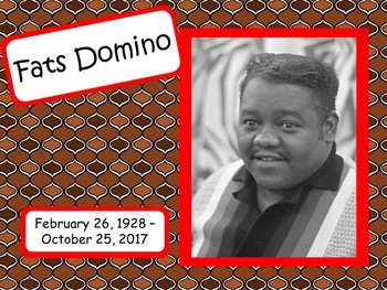 Fats Domino: Musician in the Spotlight