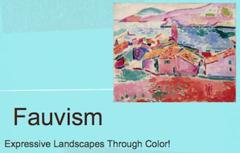 Fauvism Art Movement