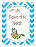 Favorite Book Story Elements Graphic Organizer