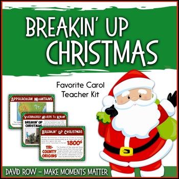Favorite Carol - Breakin' Up Christmas Teacher Kit Christm