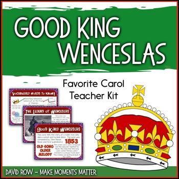 Favorite Carol - Good King Wenceslas Teacher Kit Christmas Carol