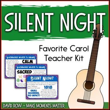 Favorite Carol - Silent Night Teacher Kit Christmas Carol