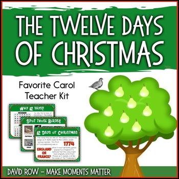 Favorite Carol - The Twelve Days of Christmas Teacher Kit