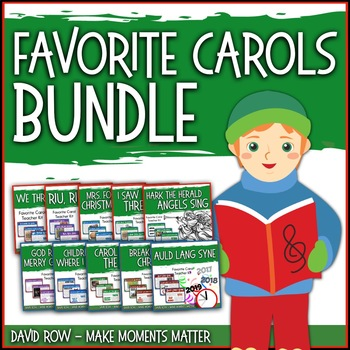 Favorite Carols BUNDLE TWO – 10 Song Teacher Kit Christmas Carol