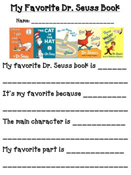 Favorite Dr. S Book