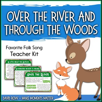 Favorite Folk Song – Over the River and Through the Woods