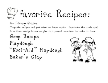 Favorite Playdough Recipes