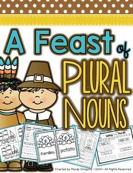 Feasting on Singular and Plural Nouns (Irregular and Regul