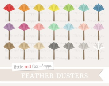 Feather Duster Clipart; Cleaning
