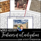 Features of a Civilization Activity and Game