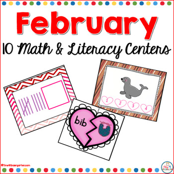 February 10 Math and Literacy Centers