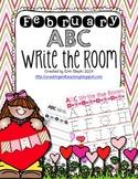 February ABC Write the Room