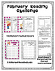 February Activities Reading Challenge