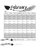 February Arrow Reading Logs