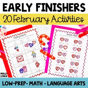 Early Finishers - February
