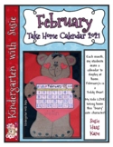 February Calendar Craft and MORE