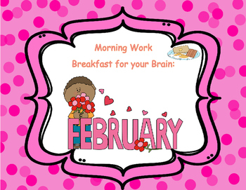 February 2nd grade Common Core Morning  Bell Work