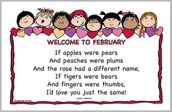 February Door Sign FREE