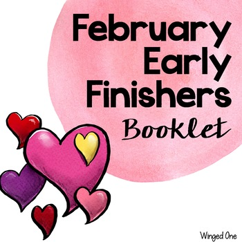 Early Finishers February Booklet