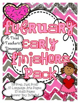 February Early Finishers Pack
