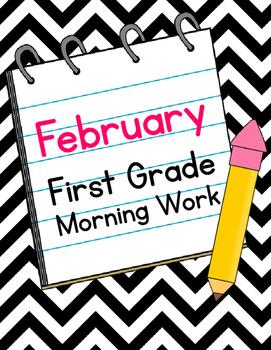 February First Grade Morning Work