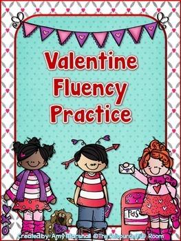Valentines Fluency Practice Pack!