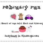 February Fun All Month with Math and Literacy