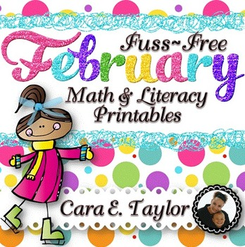 February Fuss-Free No Prep Printables ~ Black History, Val