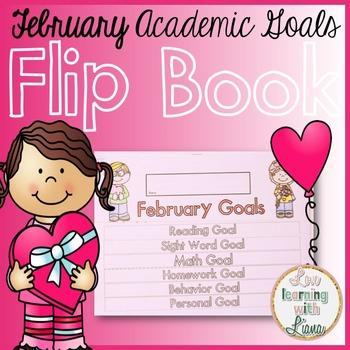 February Goals Flip Book