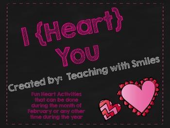 Heart Writing Activities