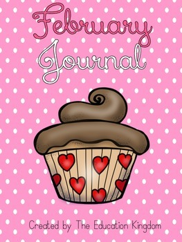 February Journal: 31 pages of FUN Prompts!