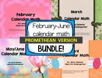 February-June Calendar Math for the Promethean Board (Acti