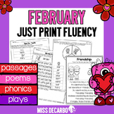 February Just Print Fluency Pack