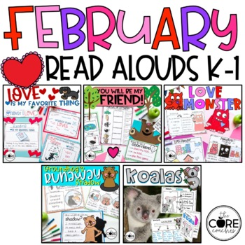 February K-1 Bundle: Lesson Plans and Activities