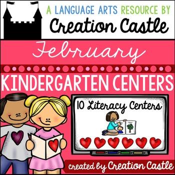 February Kindergarten Centers - Literacy