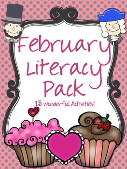 February Literacy Activities {Centers or Classroom Activities}