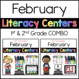 1st 2nd COMBO February Literacy Centers