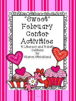 February Literacy and Math Centers-Second Grade-Common Cor