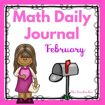 Kindergarten - Special Education - February Math Journal -