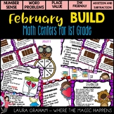 February Math Stations for First Grade