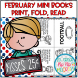 February Mini Books...Print, Fold, Read!