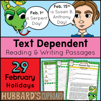 February Test Prep - Bell Work - Daily Writing Prompt - Na