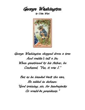 February Poem: George Washington