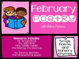 February Poetry with Rebus Pictures