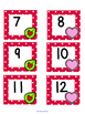 February Polka Dot Calendar Set