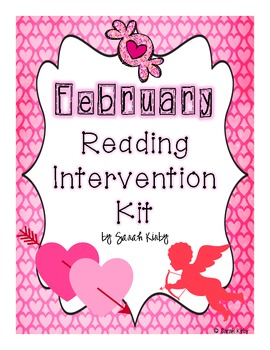 February Reading Intervention Kit