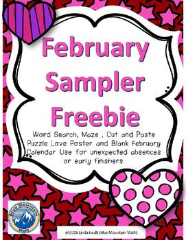 February Sampler Pack
