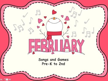 February Songs and Games
